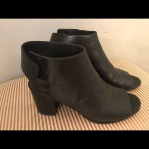 Vince Leather Booties Size 7M